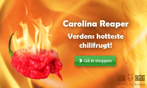 Verdens Hotteste Chili Frugt